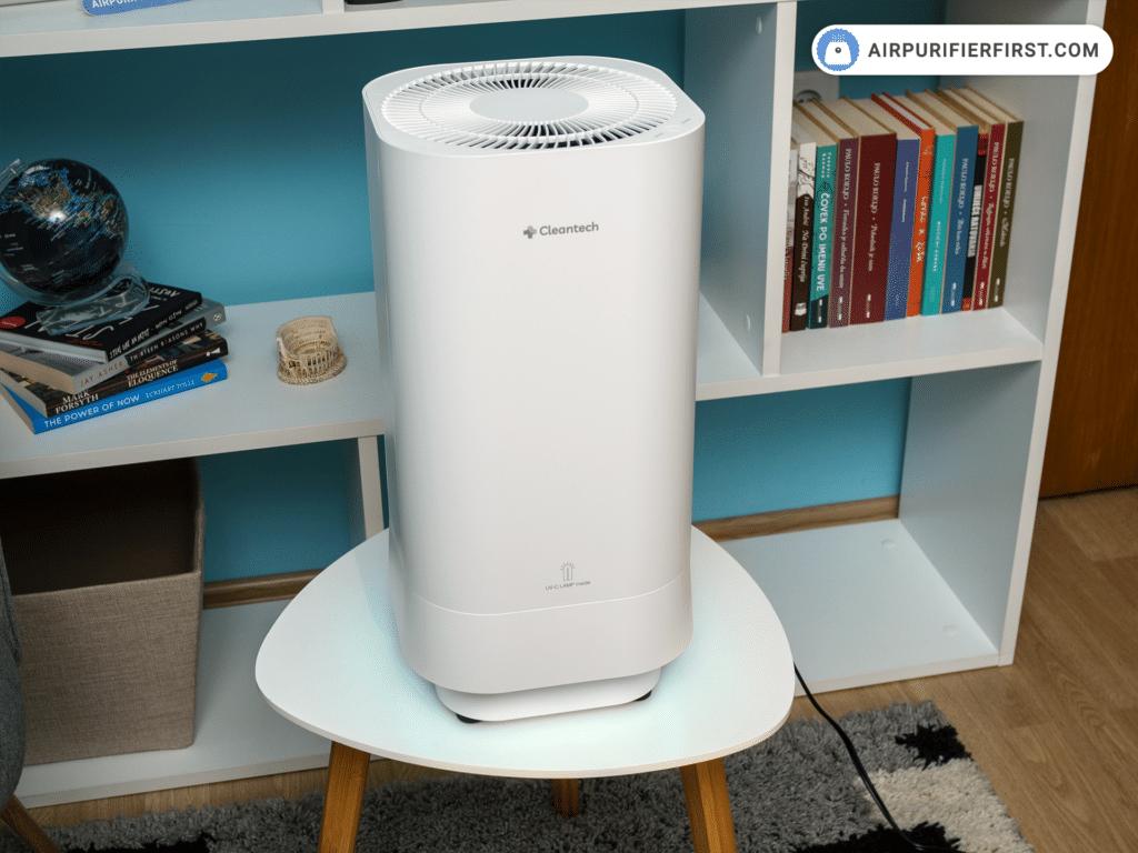 Clean-tech Air Purifier - UV-C Light At The Bottom