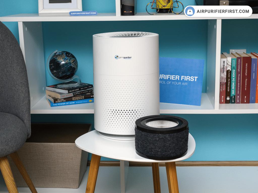 GermGuardian AC4200W Air Purifier - Filtration Technology