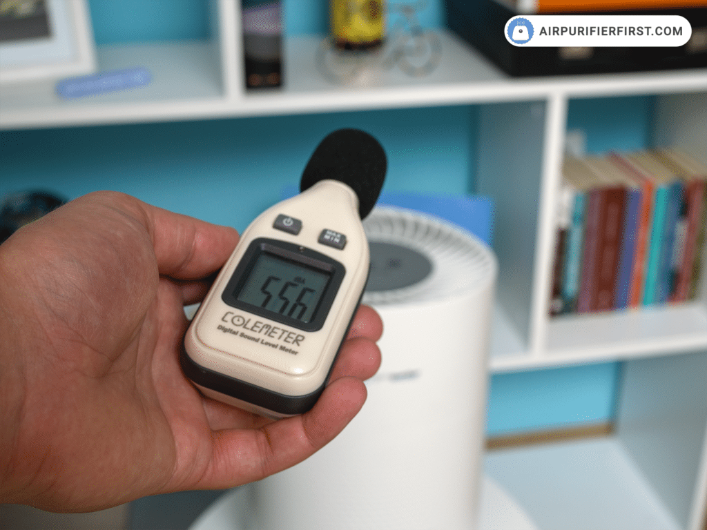 GermGuardian AC4200W Air Purifier - Noise Test