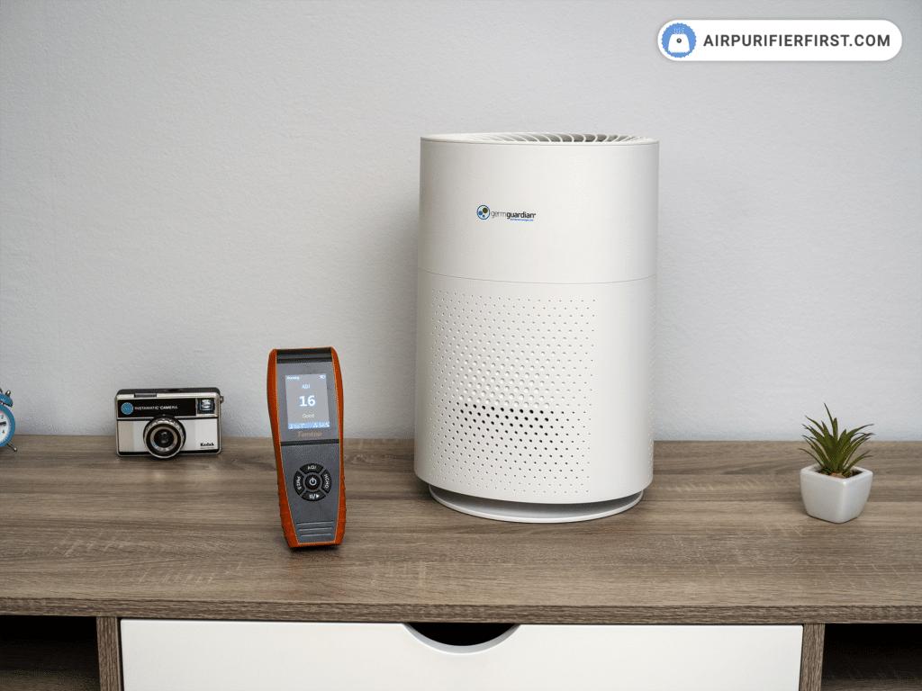 GermGuardian AC4200W Air Purifier - Performance Test