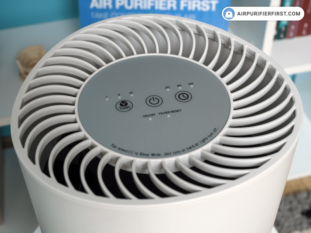 GermGuardian AC4200W Air Purifier - Touch Buttons