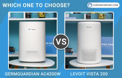 GermGuardian AC4200W Vs Levoit Vista 200 - Comparison