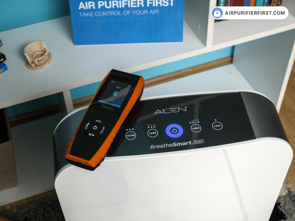 Alen BreatheSmart Flex Air Purifier - Performances Test