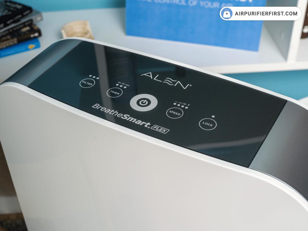Alen BreatheSmart Flex - Control Buttons