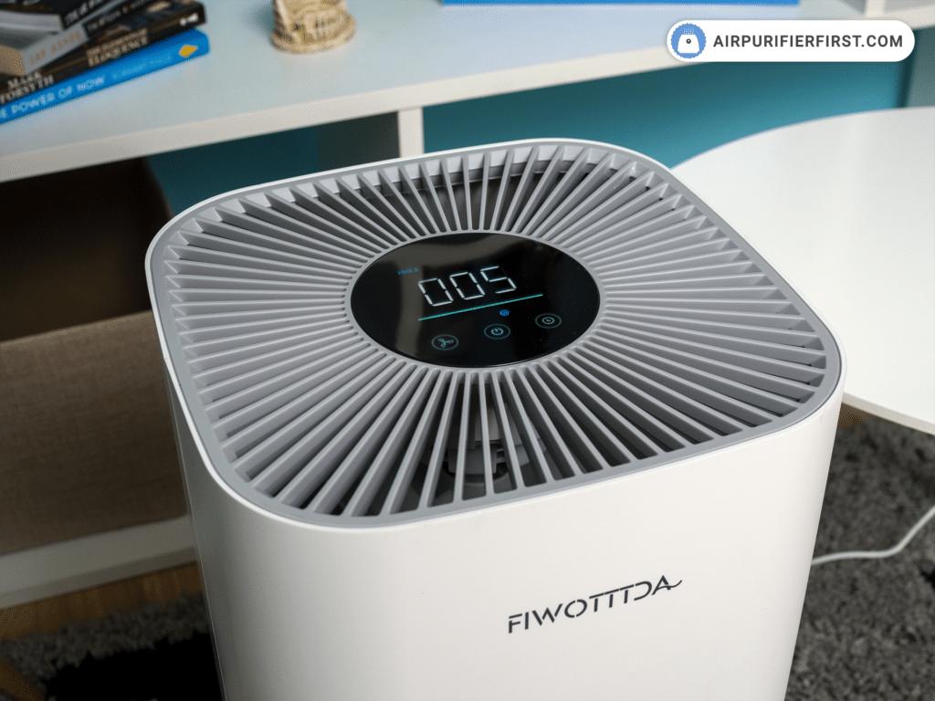 FIWOTTTDA Air Purifier - Control Panel
