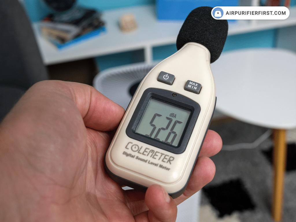 FIWOTTTDA Air Purifier - Noise Test