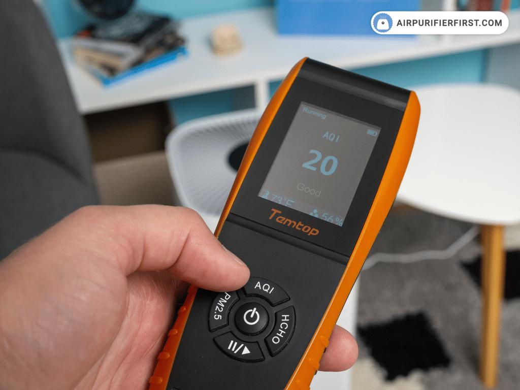 FIWOTTTDA Air Purifier - Performance Test