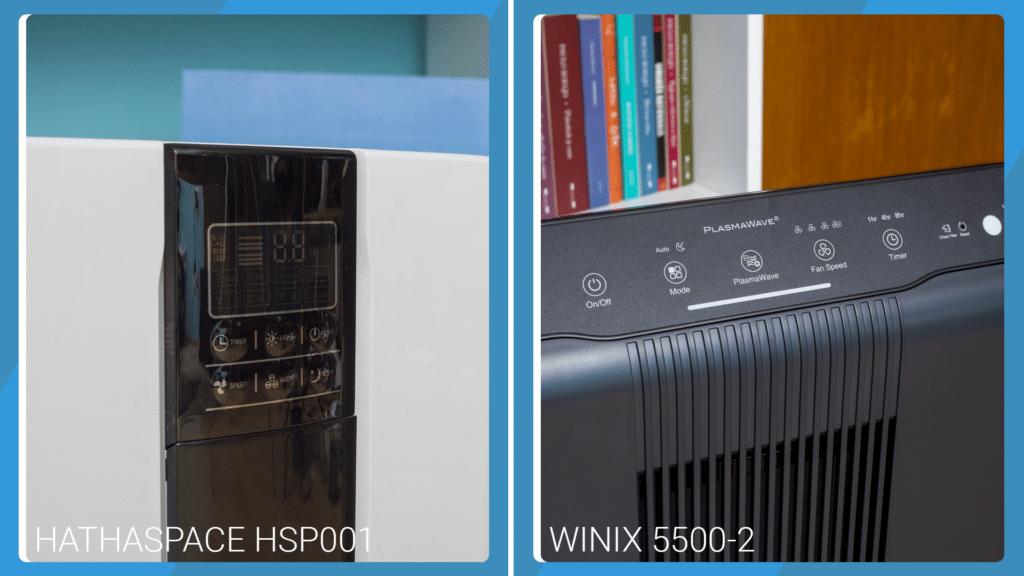 Hathaspace HSP001 Vs Winix 5500-2 - Control Buttons