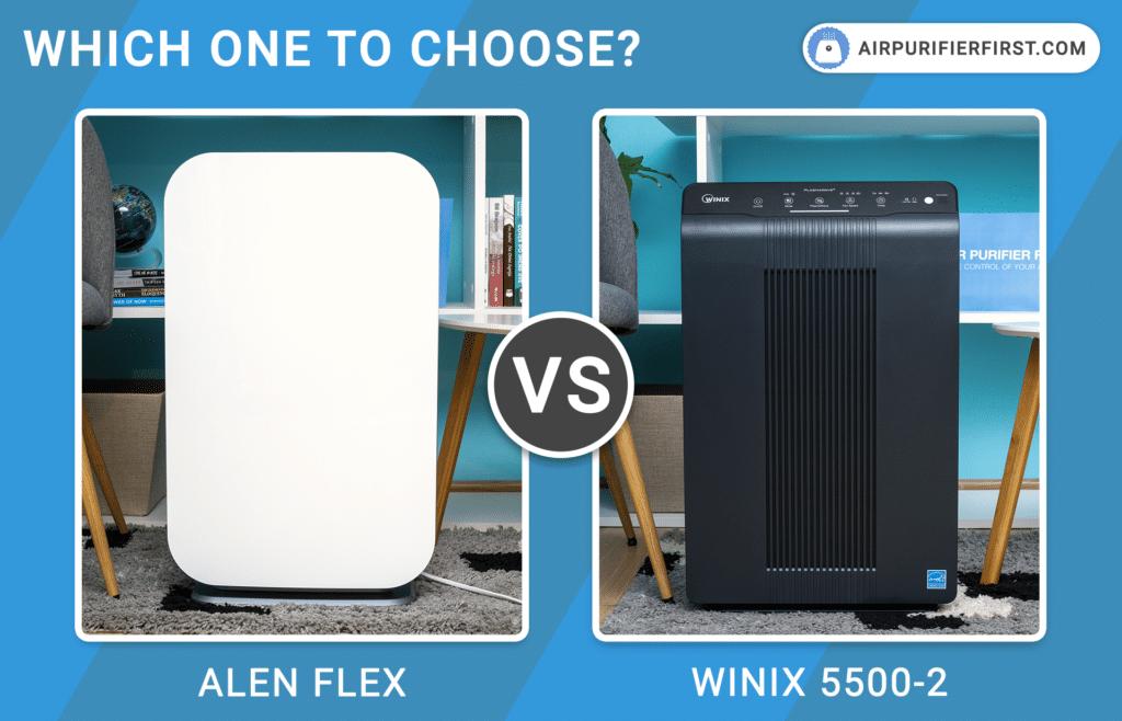 Alen BreatheSmart FLEX Vs Winix 5500-2 Air Purifiers - Comparison