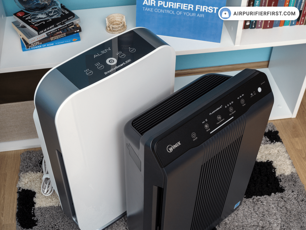 Alen BreatheSmart FLEX Vs Winix 5500-2 - Control Buttons