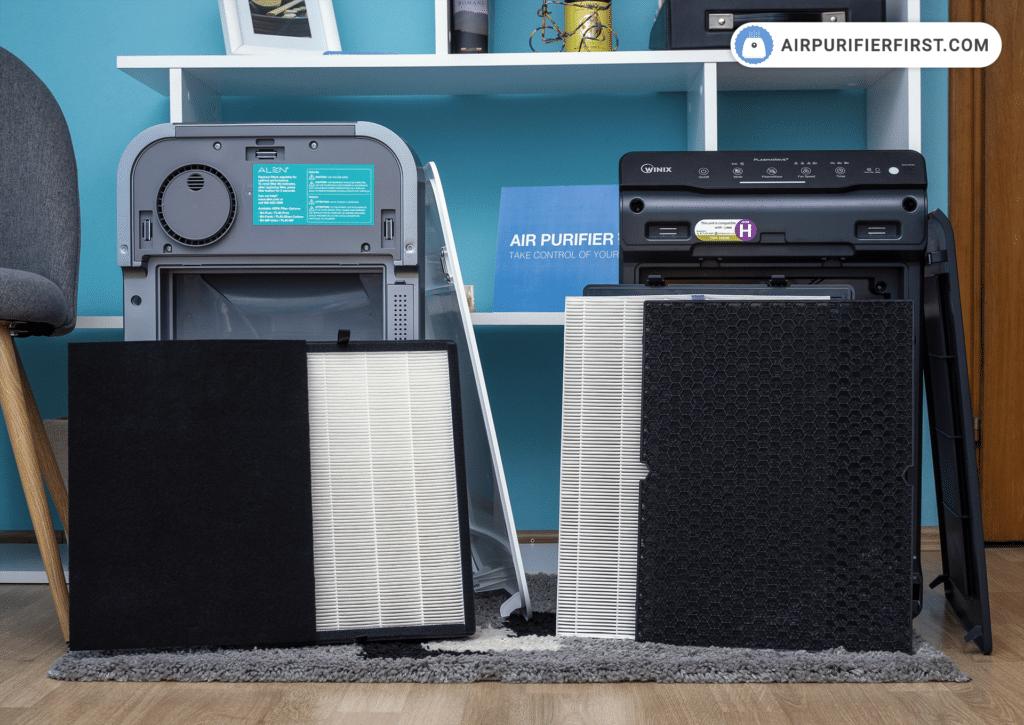 Alen BreatheSmart FLEX Vs Winix 5500-2 - Filters Comparison