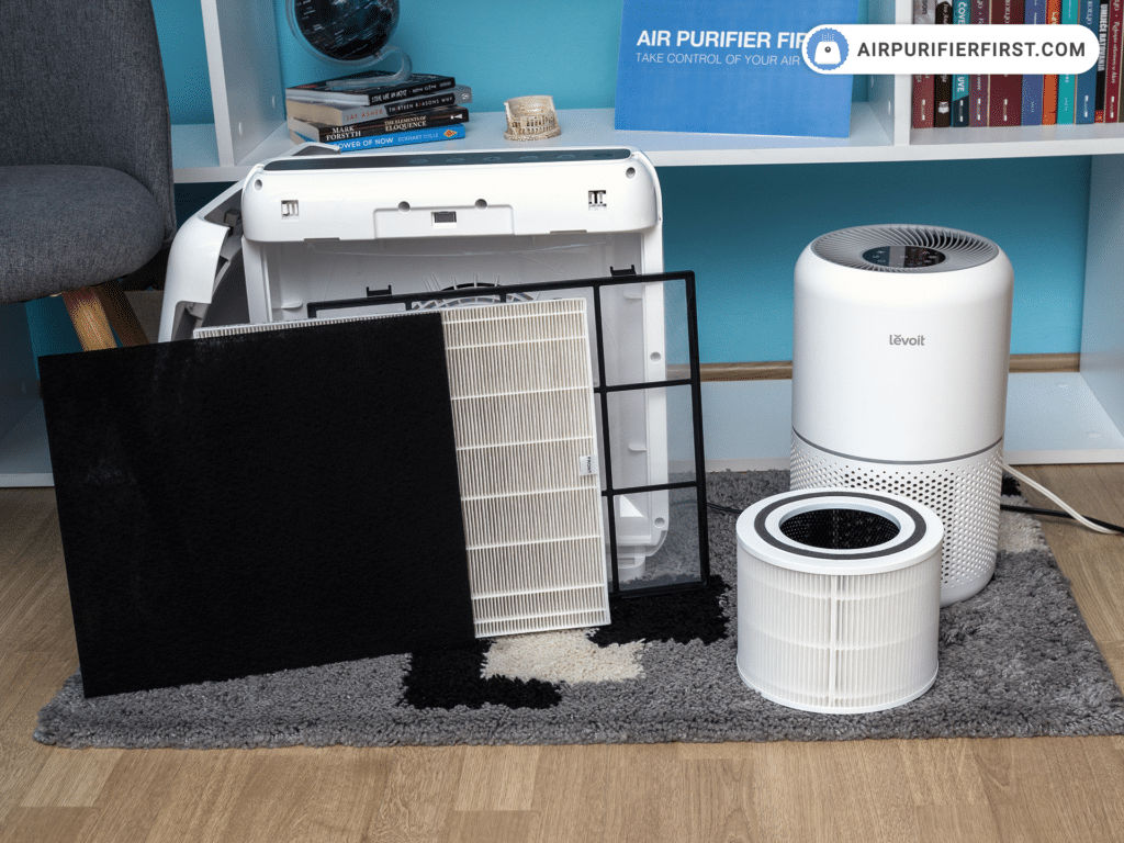 Coway AP-1512HH Mighty Vs Levoit Core 300 - Filtration Technology