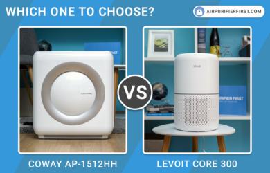 Coway AP-1512HH Mighty Vs Levoit Core 300 - Comparison