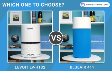 Levoit LV-H132 Vs Blueair 411 Air Purifiers - Comparison