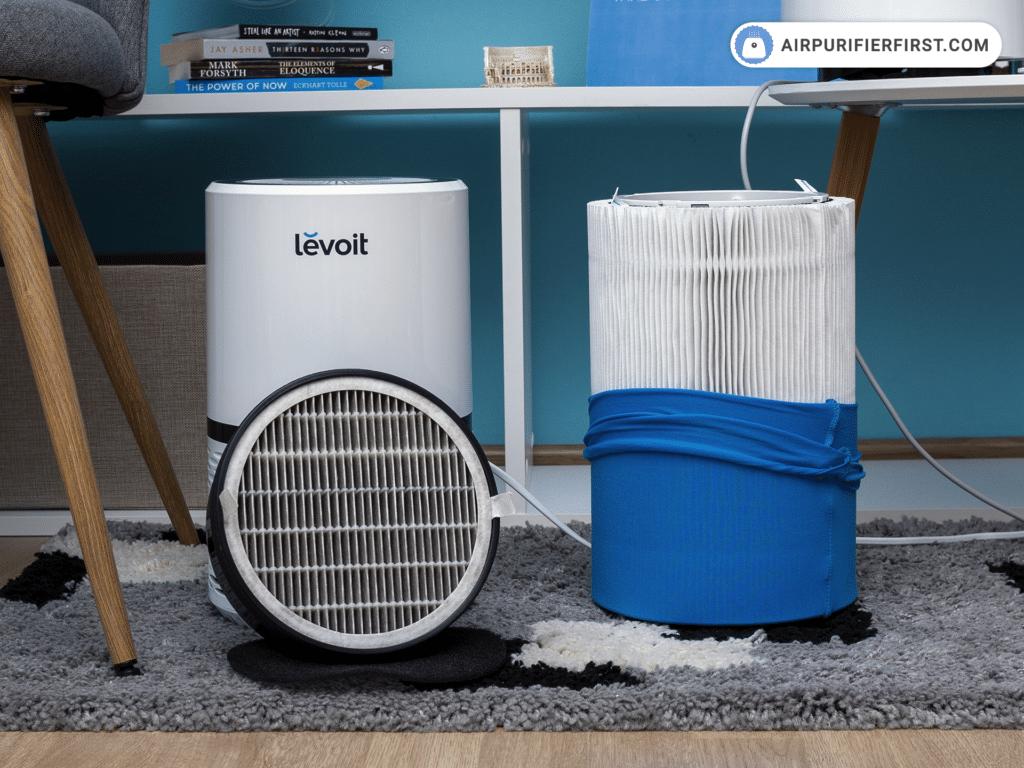 Levoit LV-H132 Vs Blueair Blue Pure 411 - Filtration Technology