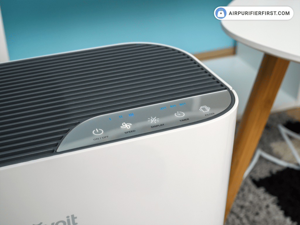 Levoit Vital 100 Air Purifier - Control Panel