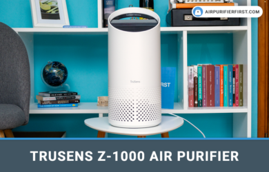 TruSens Z-1000 Air Purifier For Small Rooms