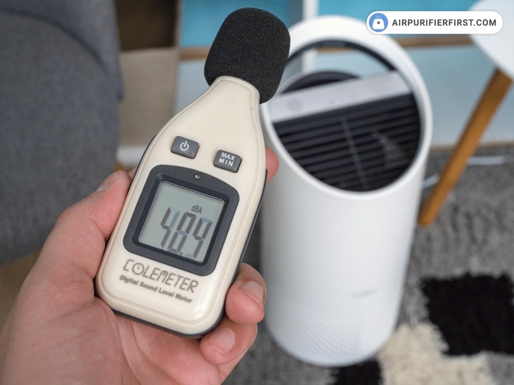 TruSens Z-1000 Air Purifier - Noise Test