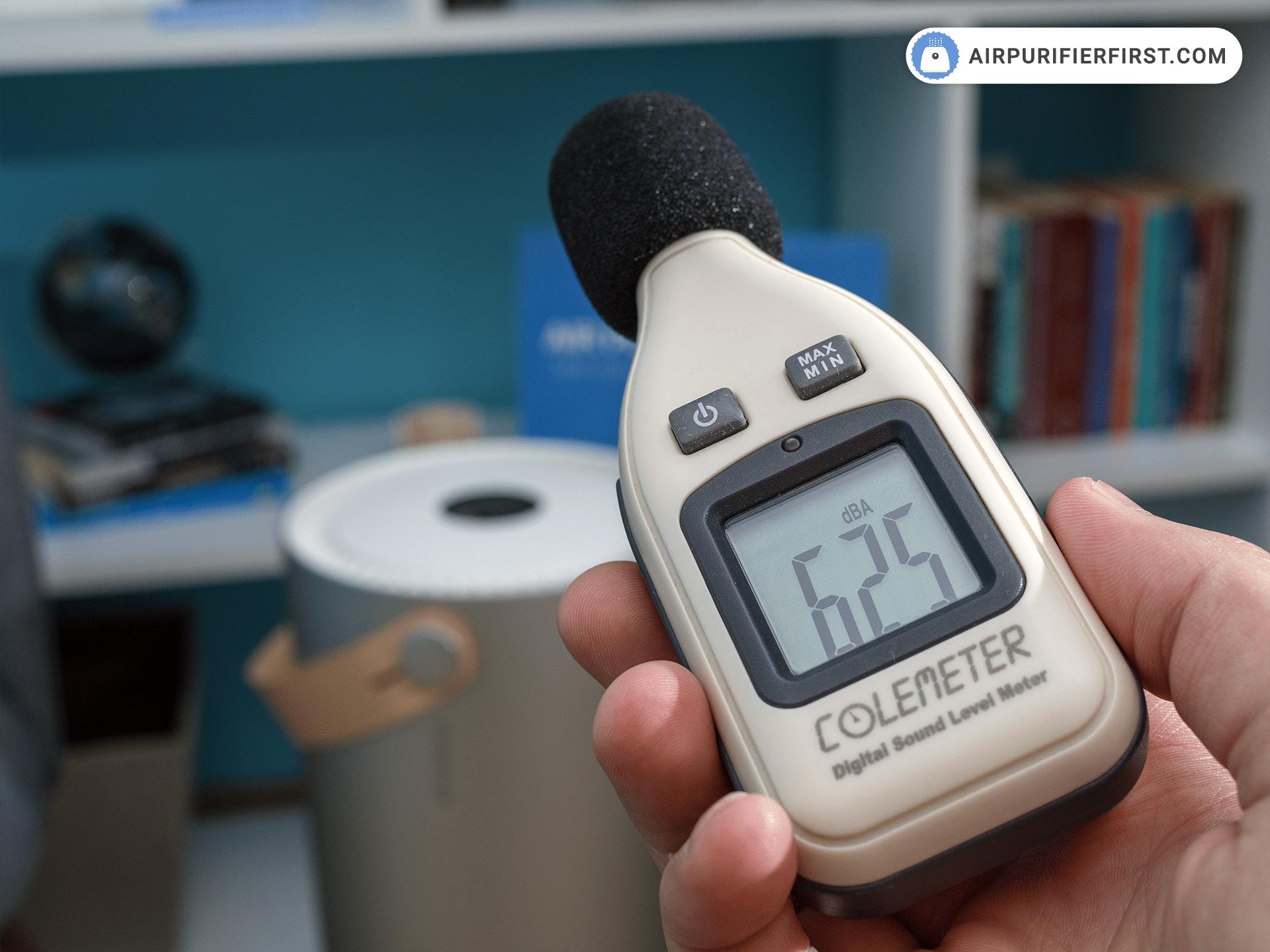 Molekule Air - Air Purifier Noise Test