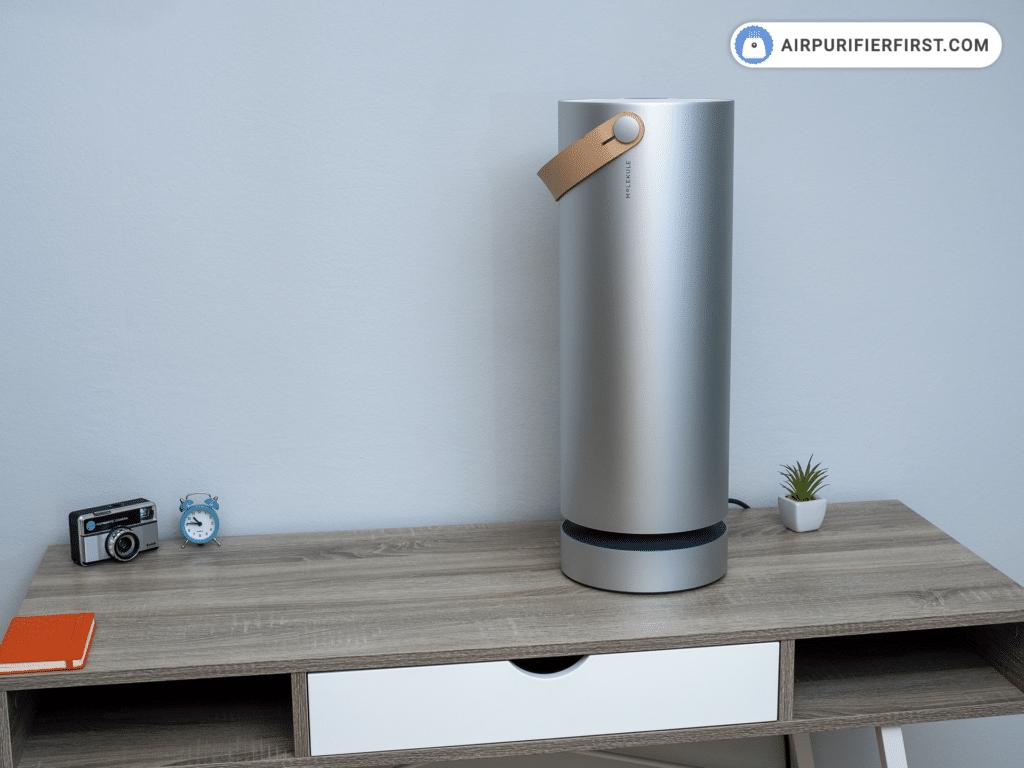 Molekule Air - Air Purifier - On The Desk