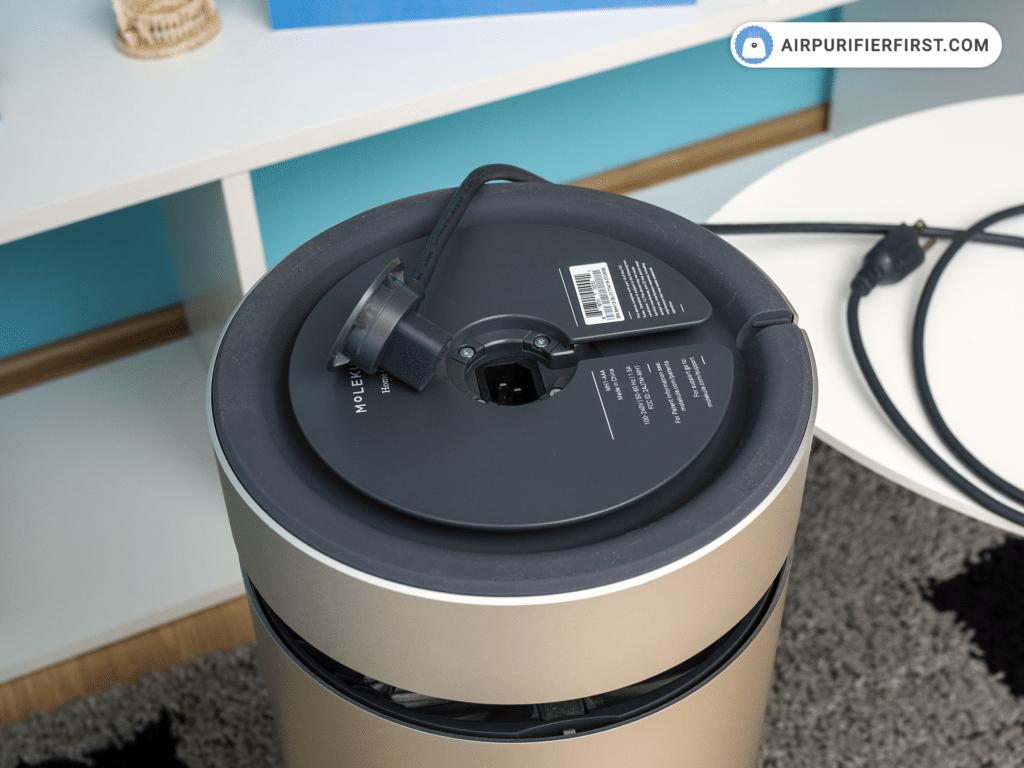 Molekule Air - Installing The Power Cord