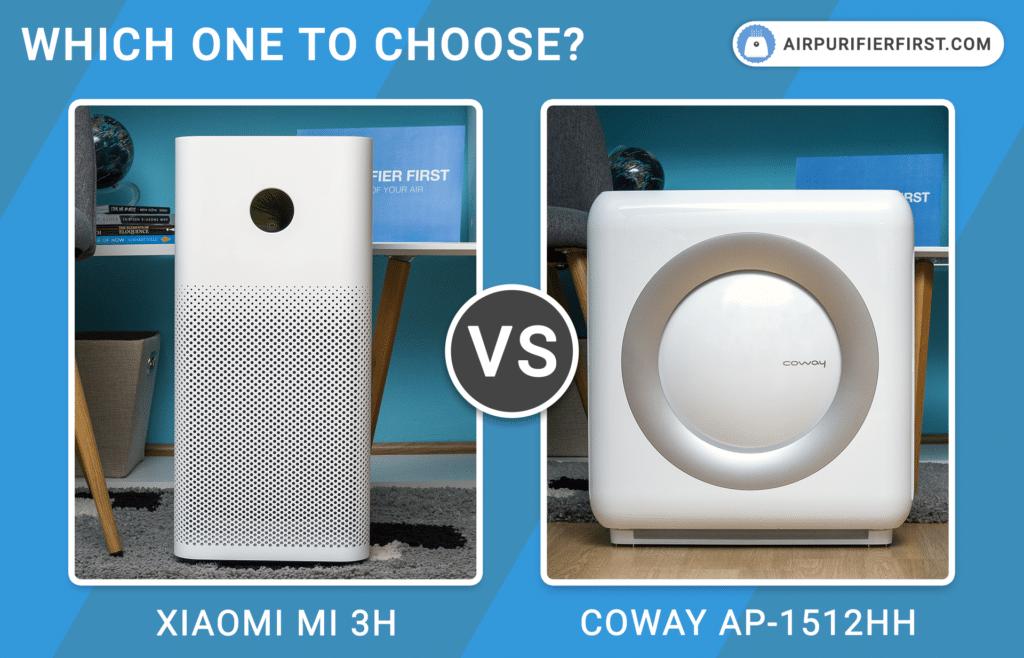 Xiaomi Mi 3H Vs Coway AP-1512HH Mighty - Comparison